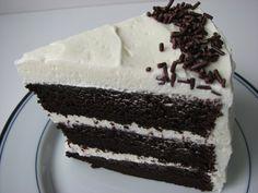 Heidi Bakes: Chocolate Birthday Cake with Crispy Magic Frosting