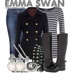 """Emma Swan (Once Upon a Time)"" by kerogenki on Polyvore"