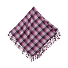 Square Checked Stole