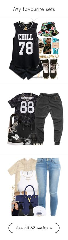 """My favourite sets"" by dope-madness ❤ liked on Polyvore featuring adidas, Rolex, Acne Studios, H&M, Yves Saint Laurent, Sole Society, KDIA, Movado, Givenchy and NIKE"