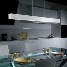 modern kitchen lighting hanging led panel light contemporary kitchen ...
