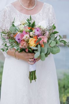 Beautiful destination wedding in Greece with bright colors│ Susan & Valerie - Chic & Stylish Weddings Wedding Set Up, Best Wedding Planner, Greece Wedding, Tea Length Dresses, Bridal Bouquets, Bridal Looks, Bright Colors, Destination Wedding, Weddings