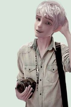 This Is What Disney (and Dreamworks) Characters Would Look Like In The Modern World. Jack Frost ♥