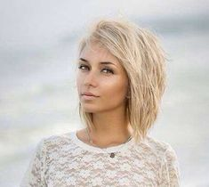 Short Blonde Hair-not sure of it's the haircut I'm in love with, or the idea that I want to look like this! Haha.