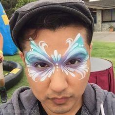 beautiful face paint mask  By Eder Vazquez