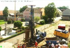 """Geothermie-Bohrung am Eslarner """"Tillyplatz"""" (20.08.2012)"""