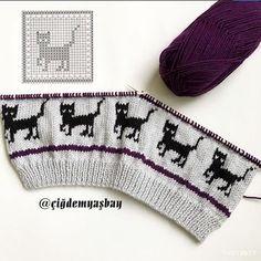 Özel's media content and analytics Baby Cardigan Knitting Pattern Free, Baby Boy Knitting Patterns, Knitting Machine Patterns, Baby Hats Knitting, Fair Isle Knitting, Knitting Charts, Knitting For Kids, Knitting Stitches, Hand Knitting