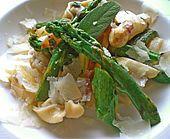 Tortelloni mit Kaninchenleberfüllung und Salbei-Spargel-Butter - Rabbit Liver Tortelloni with Sage-Asparagus Butter
