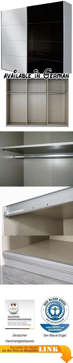 B015CP9QZM  Express Möbel Kleiderschrank 3-türig mit Spiegel 150 cm
