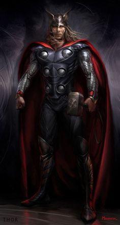 Concept Art of Thor's Movie #Avengers