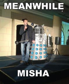 Meanwhile Misha is my new favorite thing.