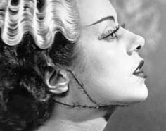 Bride of Frankenstein make-up process & detail