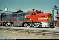 RailPictures.Net Photo: ATSF 58 Atchison, Topeka & Santa Fe (ATSF) Alco PA-1 at Fort Worth, Texas by Roger Lalonde