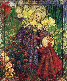 Madonna of the Dying Flowers by Wislawa Kwiatkowska.