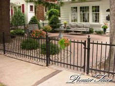 wrought iron fencing around a pool | DO IT YOURSELF IRON FENCE @ Decorative Fencing