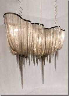 design chandelier (nickel) ATLANTIS 100 by Barlas Baylar Hudson Furniture