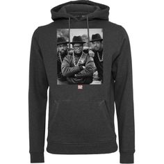 RUN DMC Trio Hoodie #fashion #rundmc #hiphop #hoody #rap #kleidung #style #styling http://www.rudestylz.de/run-dmc-trio.htm
