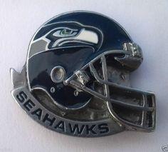 *** SEATTLE SEAHAWKS HELMET *** Novelty NFL Hat Pin P52035 EE
