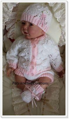 JayceeMae Baby/Reborn Pattern to fit 03 by Patsknittedcreations, £3.99