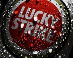 Lucky Strike Logo Art.