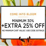 Minimum 30% Off with Extra 25% Off on All Apparel | Jabong
