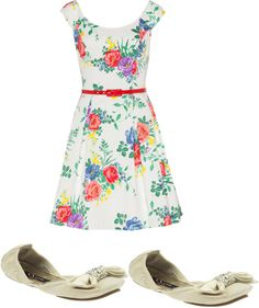 """summerday"" by nataliarimple on Polyvore"