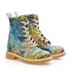 Take a look at this Goby Blue Butterfly Combat Boot today! Butterfly Watercolor, Blue Butterfly, Floral Combat Boots, Long Boots, Slip On Sneakers, Shoe Collection, Shoes Heels Boots, Rubber Rain Boots, Footwear