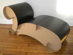 Chaise+Lounge...in+Corrugated+Cardboard+by+dianeandpablo+on+Etsy,+$200.00