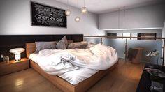 minimalist-loft-design-bedroom