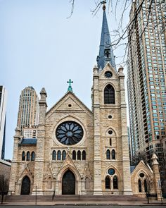 Holy Name Cathedral (1875), 735 N State St,  Chicago, IL