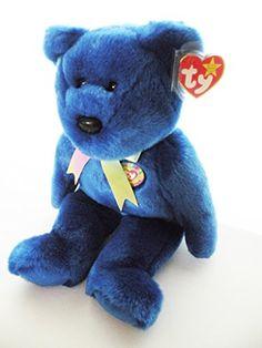 131581ffaf4 Amazon.com  Ty Beanie Babies - 1998 Clubby the Bear (Retired)  Toys   Games