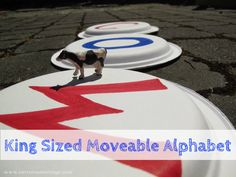 King Sized Moveable Alphabet - Kids Will Learn Letter Sounds and Build Words Alphabet Sounds, Alphabet Writing, Alphabet Games, English Alphabet, Letter Sounds, Letter Activities, Language Activities, Activities For Kids, Home Learning