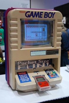 Retro things are so cool! Look into this outstanding Game Boy