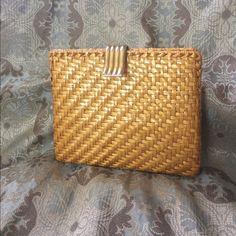 ba9af0e82897 Rodo purse Golden yellow enameled weave handbag by Rodo. Made in Italy.  Excellent condition