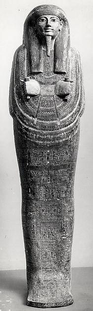 Inner coffin of Amenemopet | Third Intermediate Period | The Met
