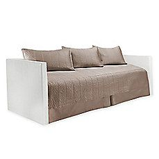 image of Real Simple® Dune Daybed Bedding Set in Taupe