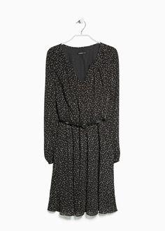 Mango belted dress $59
