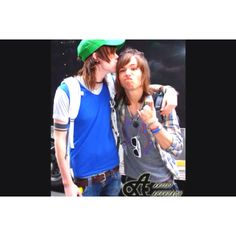 From The Ready Set my husband, Jordan Witizengrueter with nevershoutnever's Christopher Drew Ingle <3