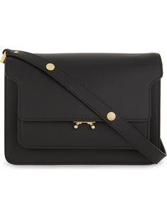 MARNI Trunk medium leather shoulder bag £1.340.00