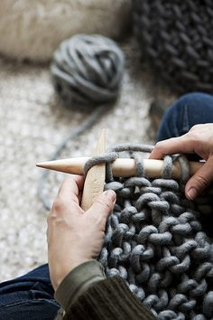 big knitting
