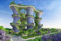 Vincaut Callebaut n'en est pas à son premier concept. Après avoir terminé de conceptualiser une ville flottante faite de déchets plastique, le visionnaire belge a travaillé sur un tout nouveau projet: «Hypérion», des tours maraichères pour la ville de Greater Noida, située au nord de l'Inde. En partenariat avec Amlankusum, un agroécologue hindou de 45 ans et d'autres architectes, le Belge a éco-conçu des immeubles «dans la double perspective de la décentralisation énergétique et de la…