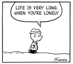Call me morbid, but The Smiths lyrics fit perfectly with Peanuts comics