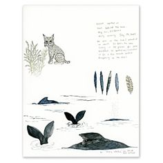 Find Big Sur Field Notes Watercolor Print and more framed artwork at Coral and Tusk. Shop from the best embroidered art to decorate your walls and compliment your home.