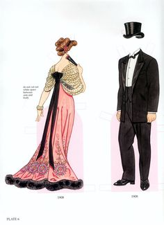 EDWARDIAN COSTUMES by Tom Tierney ~ 3 of 10