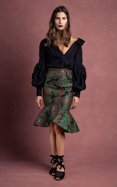 Johanna Ortiz FW16 Fall Winter Outfits, Skirt Fashion, Latest Fashion Trends, Couture Fashion, Fashion Art, Womens Fashion, Fashion Ideas, Beautiful Outfits, Peplum Dress