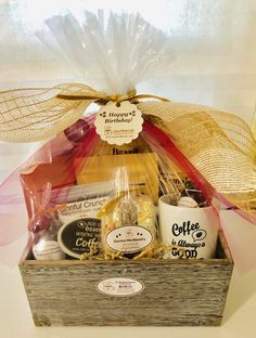 i Say It With Café - Coffee Gifts, Coffee, Coffee Lover Coffee Gift Baskets, Coffee Gifts, Coffee Hampers, Chocolate Hampers, Birthday Coffee, Lavander, Gift Hampers, Basket Decoration, Business Gifts