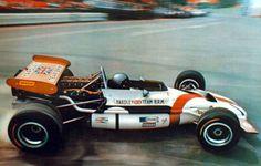 Belgian GP 1970.. Pedro Rodriguez's BRM P-153 in La Source