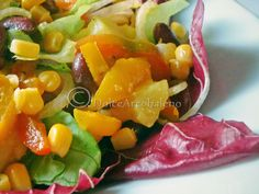 Insalata messicana, ricetta etnica. Mexican salad,  ethnic recipe .