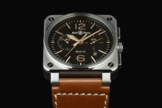 French watchmakers Bell & Ross give an update to their coveted BR03 model: the Golden Heritage. The silhouette retains the brand's...