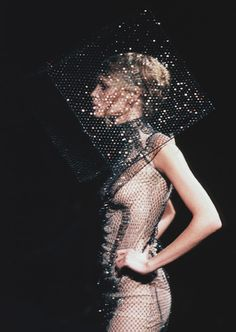 This is how I see the world. source: lavandula: alexander mcqueen spring/summer 1999